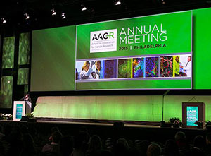 The opening session at the AACR Annual Meeting. Photo by © AACR/Todd Buchanan 2015