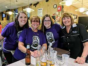 Team Papa Z, a Chicago-based fundraising team led by Allison Zalesny, holds dozens of Pancreatic Cancer Action Network fundraisers every single year.