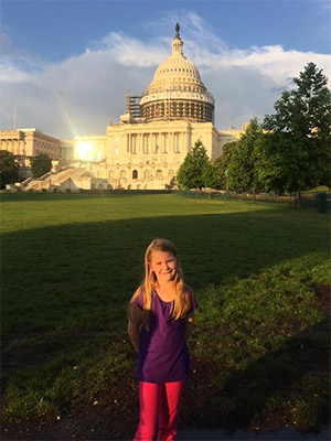 During Advocacy Day, PanCAN holds a training session just for participants age 6 to 12.