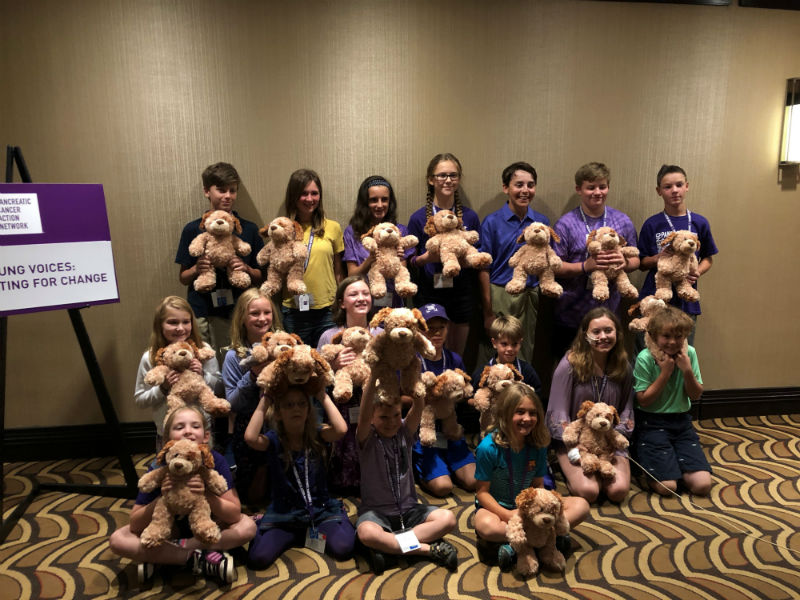 Kids make their voices heard on the Hill, as PanCAN offers special programing for young adults.