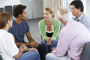 An in-person support group of pancreatic cancer patients and caregivers.