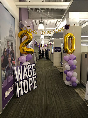PanCAN hosted 20th anniversary celebration on Feb. 22 at headquarters in Manhattan Beach, Calif.