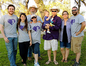 Family honors their dad who died from pancreatic cancer with BBQ fundraising event for PanCAN