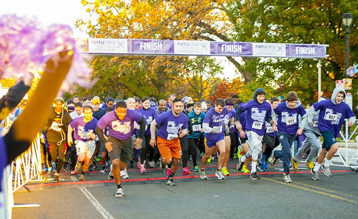 PurpleStride, the walk to end pancreatic cancer, repeats as a top national fundraising program
