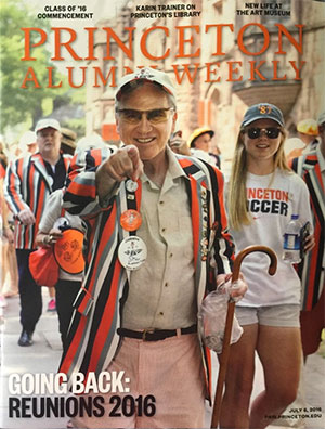 14-year pancreatic cancer survivor, Princeton University alum on magazine cover with daughter