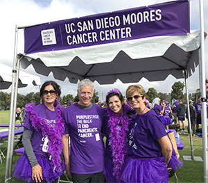 Pancreatic cancer doctors and researchers attend PurpleStride 5K walk to spread awareness