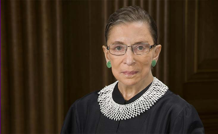 U.S. Supreme Court Justice Ruth Bader Ginsburg died of pancreatic cancer on Sept. 18, 2020.