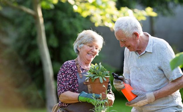 Pancreatic cancer patient copes with grief by continuing her hobby, gardening
