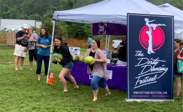 The Dirty Dancing Festival raises funds for pancreatic cancer in a tribute to Patrick Swayze