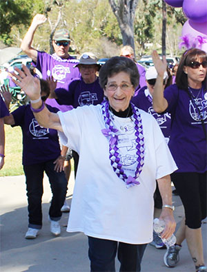 Carol at PurpleStride Orange County