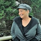 Pancreatic cancer survivor, smiling and staying positive
