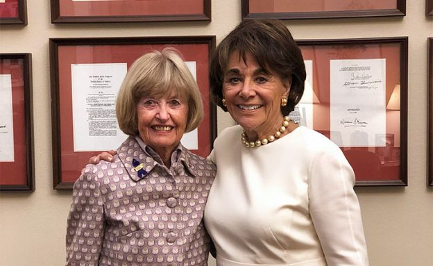 Pancreatic cancer survivor attended the 2020 State of the Union address with Rep. Anna Eshoo