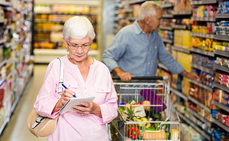 Tips for cancer patients for smart grocery shopping and healthy meal prep during COVID-19