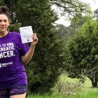 Creative fundraiser raised money for PanCAN's PurpleStride Austin to fight pancreatic cancer