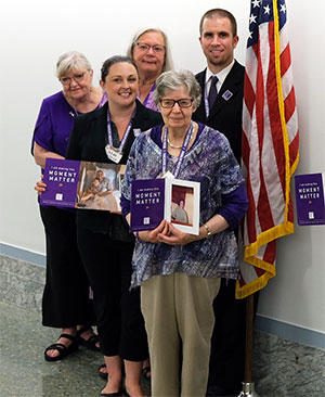 Advocates for pancreatic cancer cause in Washington, D.C., in 2018