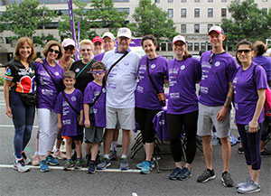 Pancreatic cancer survivor at PanCAN's 5 walk
