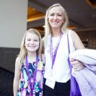 PanCAN youth advocate and mother in Washington, D.C. for PanCAN's annual advocacy event