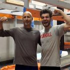 American Ninja Warrior star Tyler Gillett with his cousin Bill who was diagnosed with stage 4 pancreatic cancer.