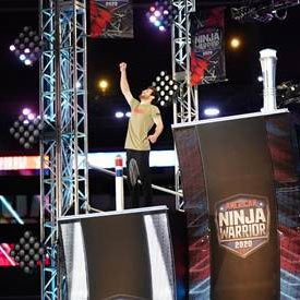 American Ninja Warrior star Tyler Gillett competes on the show.
