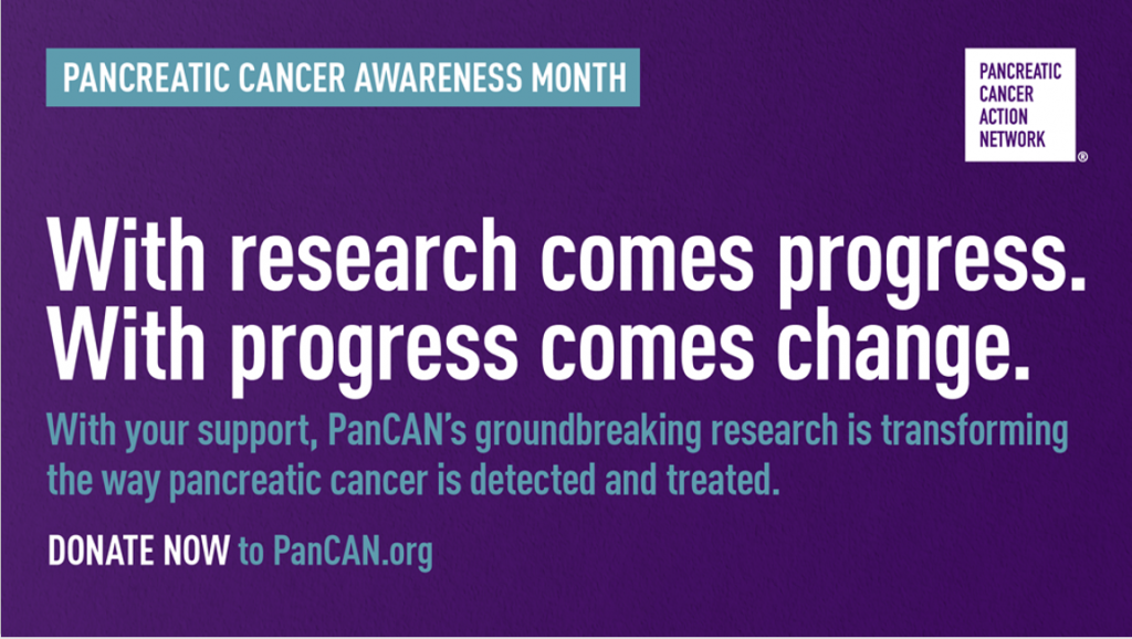 PanCAN's groundbreaking pancreatic cancer research is funded by donor support