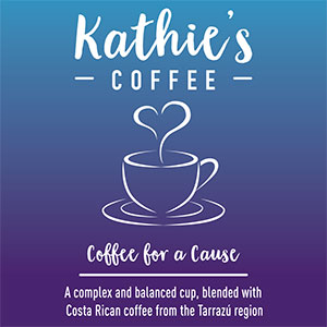 Kathie's Coffee will donate $3 t PanCAN for each bag of coffee sold